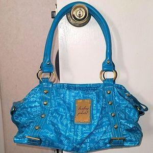Baby phat turquoise mini bag